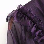 Transluscent Ruffled Ribbon Tie Blouse   Jisoo – BlackPink