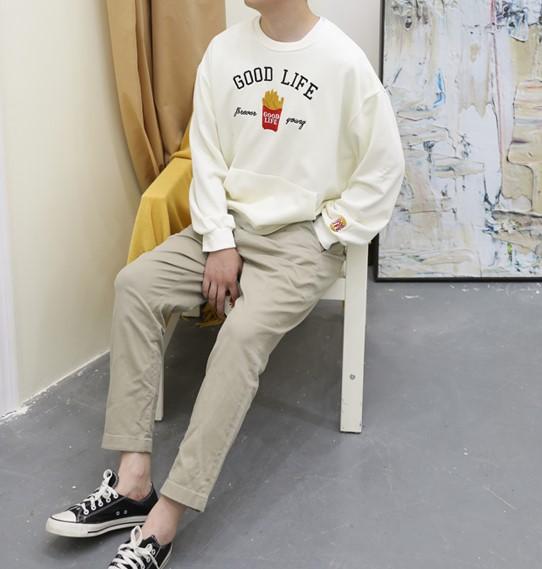 """Good Life"" Fries Sweater | Taehyung – BTS"