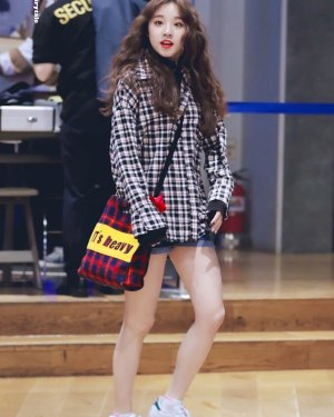 Plaid Polo Autumn Shirt | Yuqi – (G)I-DLE