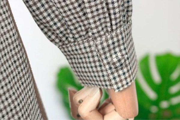 Classic Retro Plaid Dress | Jisoo – BlackPink