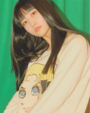 Anime Girl Print Sweater   Momo – Twice
