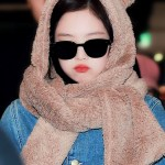 Bear Ears Winter Scarf Hat | Jennie – BlackPink