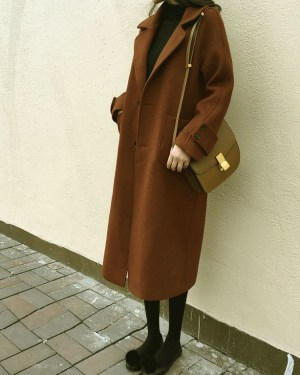 Lisa Long Brown Coat Inspiration (13)