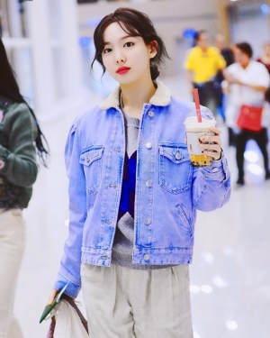 Warm Denim Jacket | Nayeon – Twice