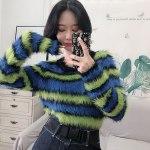 Mink Hair Crop Sweater | Tzuyu – Twice