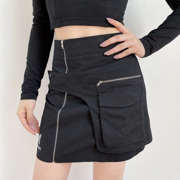 Black High Waist Skirt With Pocket | Yuqi – (G)I-DLE