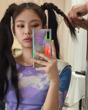 Dreamy Clouds Mesh T-Shirt | Jennie – BlackPink