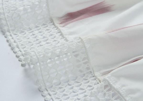 Red Square Patterned Dress | Jisoo – BlackPink