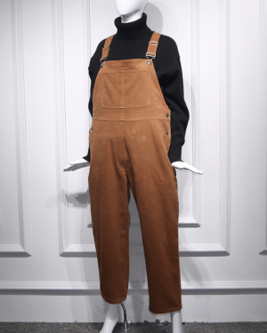 Yoona Corduroy Jumper Pants 1