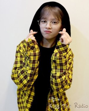 Hooded Flannel Oversize Sweatshirt | Jeongyeon – Twice