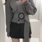 Double Knit Cropped Cardigan | Jihyo – Twice