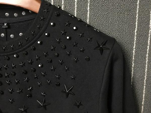Star Metal Rivet Sweatshirt | LeeKnow – Stray Kids
