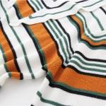 Triangular Collared Multi-striped Sweatshirt | LeeKnow – Stray Kids