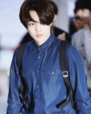 Classic Denim Long Sleeve Shirt – Xiumin – EXO