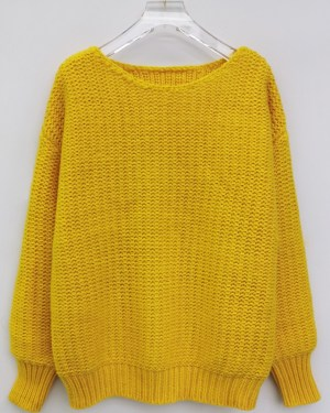 Yoon Se Ri Yellow Knit Sweater (3)