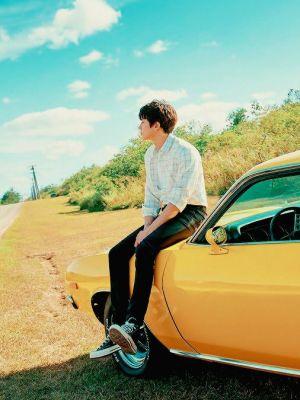 Fine White Lined Shirt   Chanyeol – EXO
