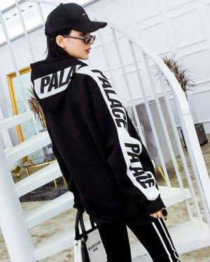 Jaehyun PALACE Print Black Hoodie 7-min