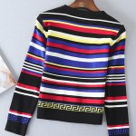 Colorblock Knitted Sweater and skirt| Jennie – Blackpink