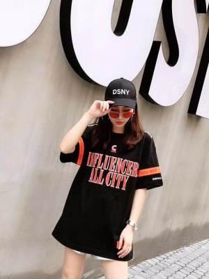 Jeno Influencer with Orange Arm Band Shirt 8