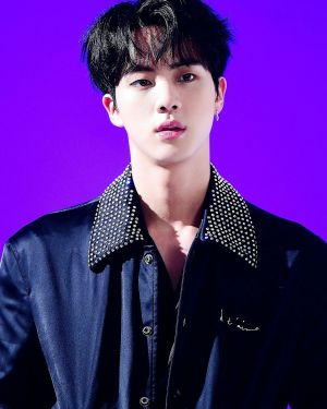 Studded Collar Bomber jacket | Jin – BTS