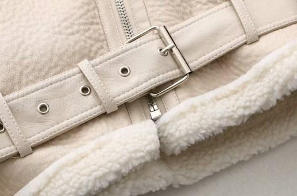 Creamy White Lambskin Motorcycle Jacket | Jo Yi Seo – Itaewon Class