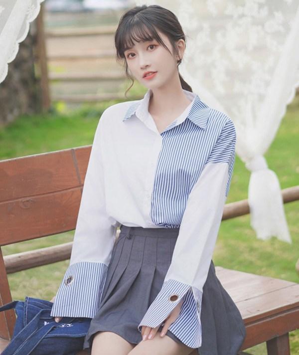 Bell Bottom Long Sleeve Shirt