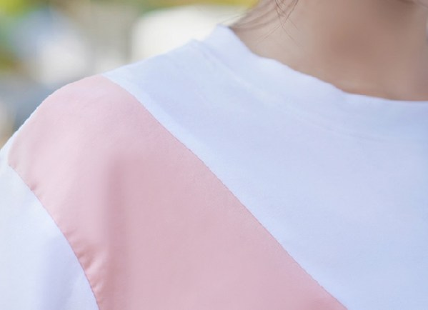Casual Pastel Design Tee