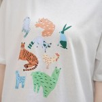 Cute Animal Print T-Shirt