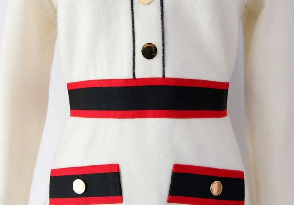 Black And Red Waist Band Dress | Dahyun – Twice