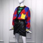Bright Colors Argyll Patterned Oversized Cardigan | Jihyo – Twice