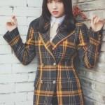 Check Plaid Suit Jacket | Momo -Twice