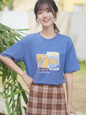 Retro Inspired Print Shirt (5)