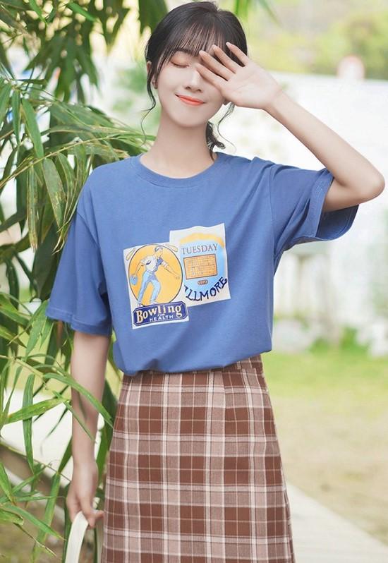 Retro Inspired Print T-Shirt