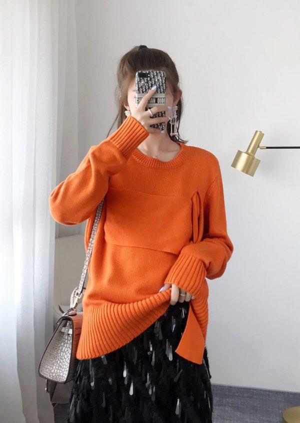 Interwoven Wool Sweater   Seulgi – Red Velvet