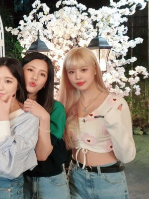 Flower Heart Crop String T-Shirt | Soojin – (G)i-DLE