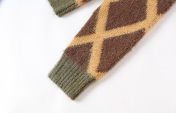 Olive Green Mohair Cardigan |Taeyong – NCT