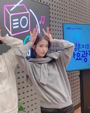 Grey Two Piece Illusion Sweater | IU