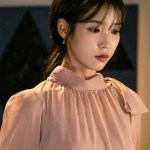 Pink Ribbon Long Chiffon Dress | IU – Hotel Del Luna