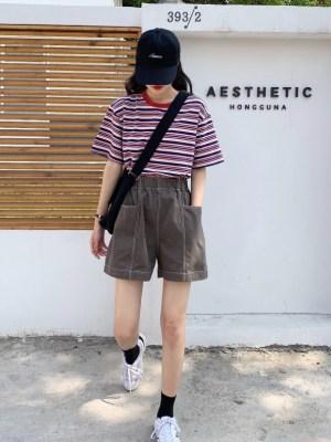 Chungha – Multicolored Round Neck Shirt Chungha (23)
