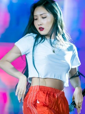 Plain White Cropped Top | Hwasa – Mamamoo