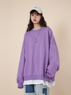 Mamamoo Moonbyul – Loose Round Neck Sweater With Fake Inner Shirt (15)