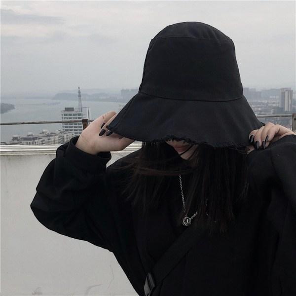 Black Fisherman Hat | IU