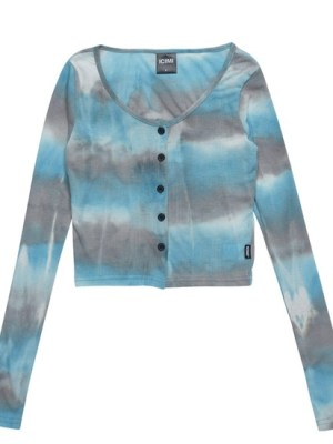Jennie – Blackpink Tie-Dye Cardigan (4)