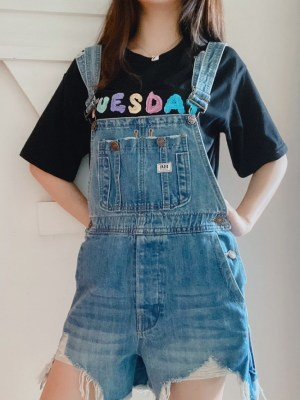 Jennie Denim Ripped Jumper Overall (16)