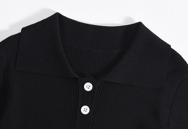 Khaki Cotton Polo Shirt   Jisoo – Blackpink