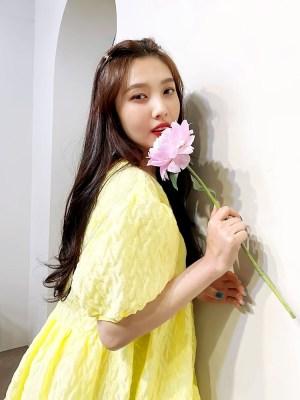 Yellow Baby Doll Dress   Joy – Red Velvet