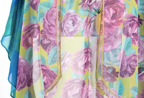 Floral Irregular Ruffled Dress   Rose – Blackpink