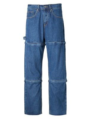 Wheein – Mamamoo Cut-Off Pointed Denim Pants (3)