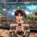 Striped Long Sleeve Tee  | Doyoung – NCT