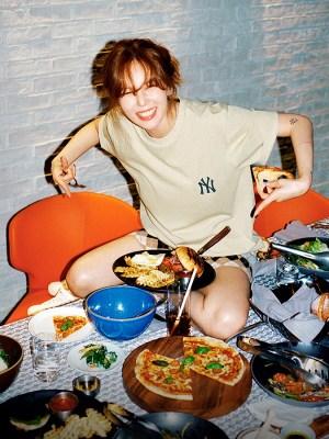 Mini Wool-Blend Skirt | Hyuna